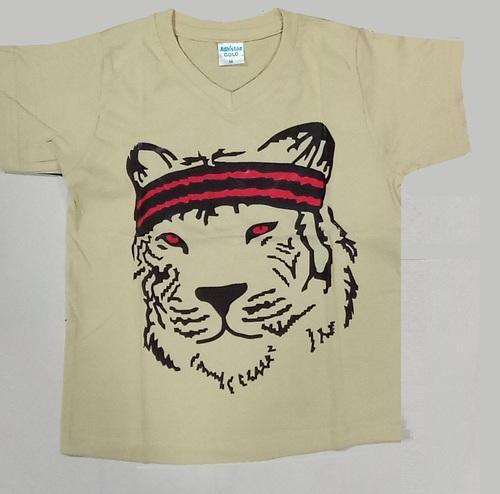 Kids V Neck T Shirt