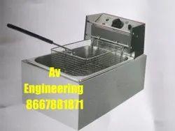 8Ltr Single Electric Deep Fryer