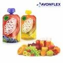 Plastic Laminated Fruit Juice Packaging Pouch