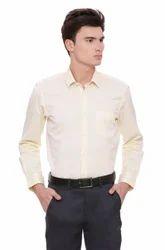 Peter England Formal Yellow Shirt