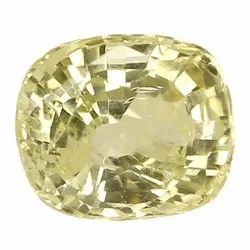 Cushion - Cut Natural Ceylon Yellow Sapphire
