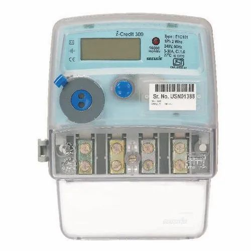 Icredit Single Phase Electronic Energy Meter