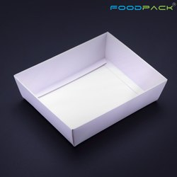 White Liquid Proof Paper Tray