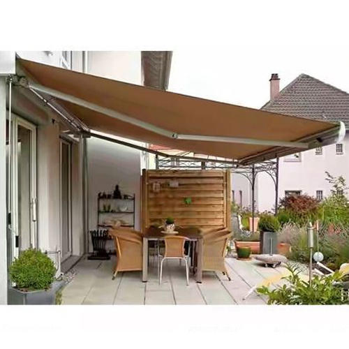 Brown Tunnel Shop Awning Canopy