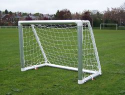 Football Goal Post Aluminium Super DX Stag PF1 New