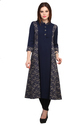 Cottinfab Women's Party Wear Kurti