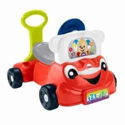 Multicolor Fisher Price Laugh N Learn 3 in 1 Smart Car, Packaging Type: Box
