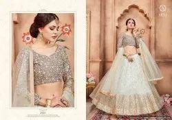 White Designer Lehenga Choli