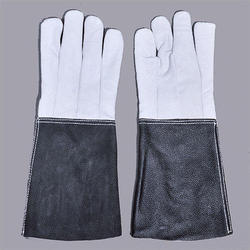 Unisex Industrial Leather Safety Gloves