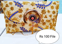 Zoha Bag Jute Rajasthani Handbag