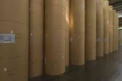 proton recycle pulp Brown Kraft Paper Roll, GSM: 150 - 200
