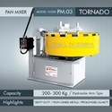 Heavy Duty Pan Mixer Tornado
