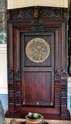 Antique Teak Wood Door
