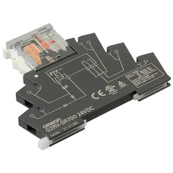 Omron Slim I/O Relay - G2RV-SR700 DC24