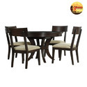 Purnima Wooden Sagwan Wood Dining Table, Size/dimension: Standard, For Home