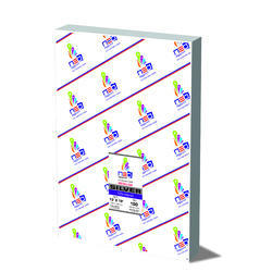 Cyber Digi Print PEARL SILVER METALLIC OPAQUE FILM, Pack Size: 19.75 X 13.75 X 7.5 , Packaging Type: Printed Corrugated Box