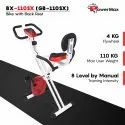 BX-110SX Magnetic Upright Bike With Backrest