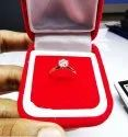 Solitaire Diamond Ring 0.70ct E VVS Lab Grown Stone 18k Yellow Gold