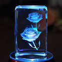 Crystal 3D And 2D Laser Engraving Paper Weight