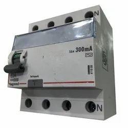 63 A 230/415v (nominal Voltage) Legrand 4 Pole 300 ma Rccb (elcb)