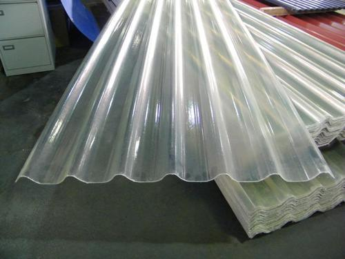 Non Color Transprant Cold Rolled Fiber Glass Roofing Sheet