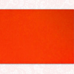 Corrugated Paper - Coral