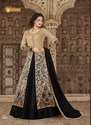 Fab Zone Semi-stitched Net Bridal Wear Designer Anarkali Suit, Size: Free Size