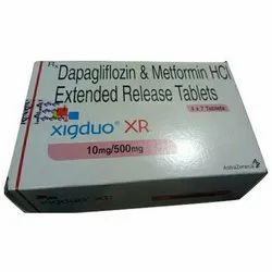 Dapagliflozin and Metformin HCL Extended Release Tablets