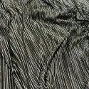 Crushed Satin Foil Fabric