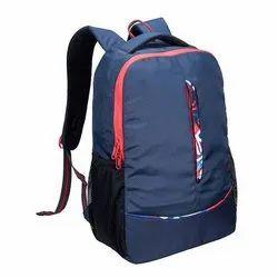 Printed Blue Designer School Bag