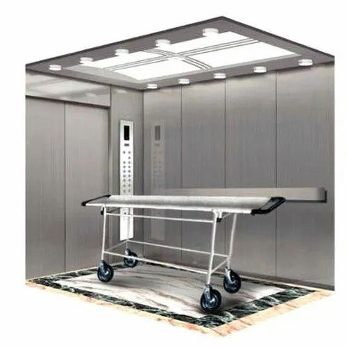 Automatic Stainless Steel Hospital Bed Elevator, 3-4 Ton, Rs 580000 /unit |  ID: 3743188262