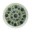 Marble inlay Home Decor plate