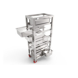 Silver G.N Pan Storage Rack