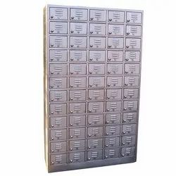 60 Compartment SS Shoe Locker