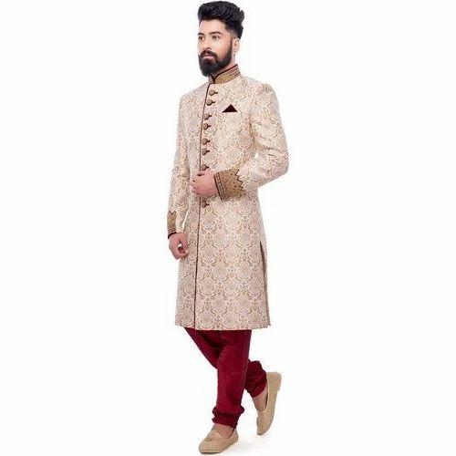 6c0fbde094 Mens Jacquard Wedding Sherwani at Rs 15000 /piece | Wedding Sherwani ...