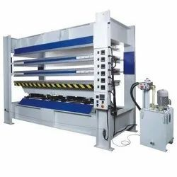 Karunanand Mild Steel Hot Press Machine For Lamination Wood Working Industries, For Industrial