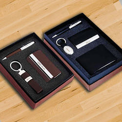 Leather Corporate Employee Gift Set, For Gifting, Packaging Type: Box