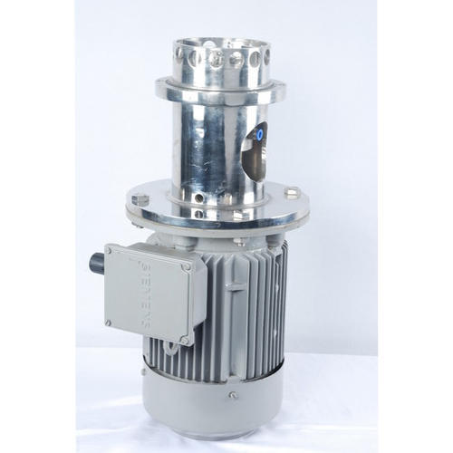 Semi-Automatic Mild Steel Top Entry Mixer