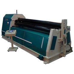 Four Roll PLC Pre Pinch Plate Rolling Bending Machine