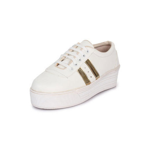Party Wear Ladies White Shoes, Rs 250