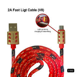 Reliable Data Cable E-012 2A Fast Light Cable (V8)