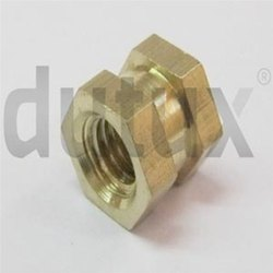 DBI-046 Double Hex Brass Insert
