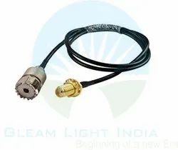 RF Cable Assemblies UHF Female to SMA Female in LMR 200