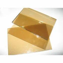 Light Gold Reflective Glass