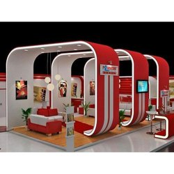 Exhibition Stall Designing Service, Local