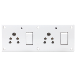 Press Fit - Glory 8-in-1 Switch Socket Combined