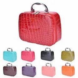 Leather Makeup Storage Bag