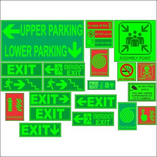 Auto Glow Signage Electrical Fence Signage Manufacturer From Mumbai