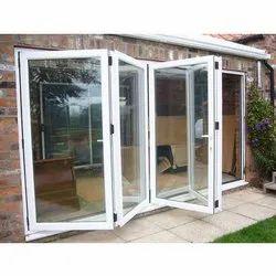 Aluminium Foldable Aluminum Door, 20-55 Mm, 5-8mm