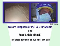 Classik PET Sheet Used for Face Shield Raw Material